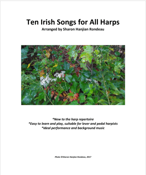 Ten Irish Songs for All Harps Cover