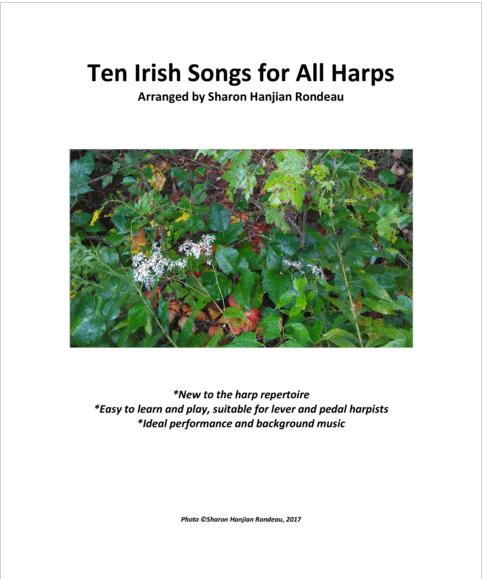 Ten Irish Songs for All Harps Cover